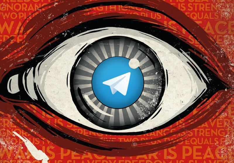 фото: телеграм следит за звонками пользователей