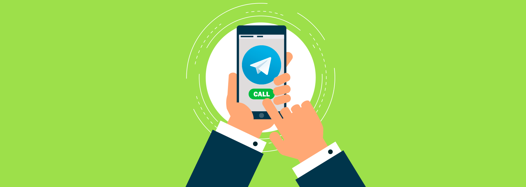 картинка: звонки в телеграм