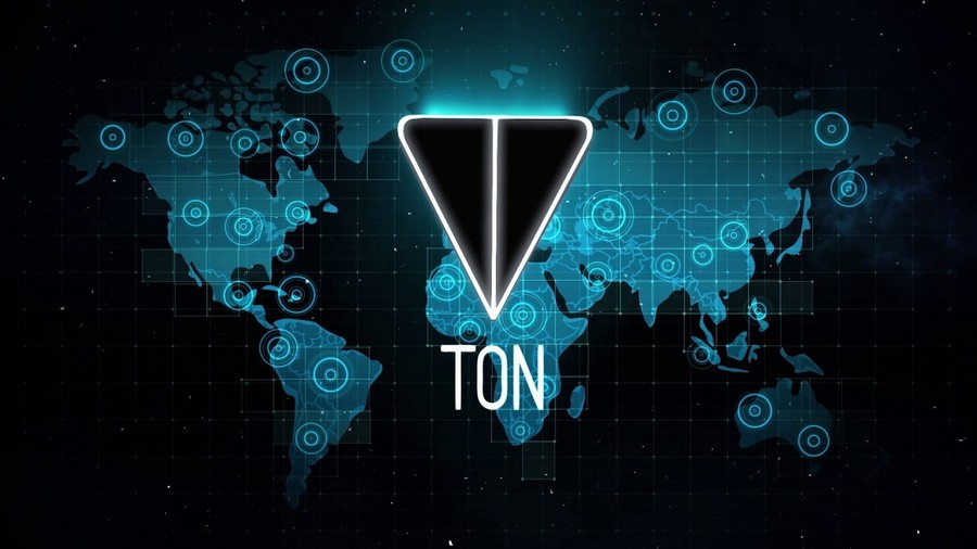 картинка: блокчейн-платформа TON